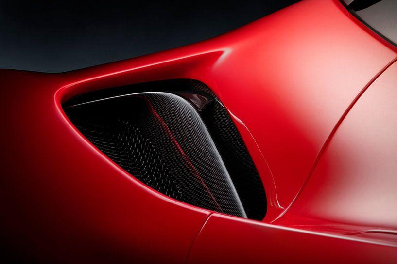 Ferrari SF90 Stradale luchtinlaat van Thomas Boudewijn