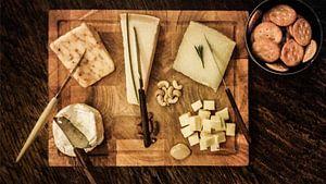 Kaasplankje met een keuze uit vijf kazen