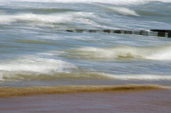 Artistieke golven van Domburg van Jessica Berendsen