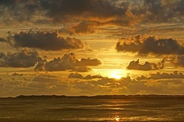 Zonsondergang op Terschelling von Johan Kalthof