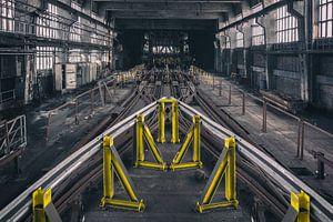 Verlaten Industrie urban exploring van dafne Op 't Eijnde
