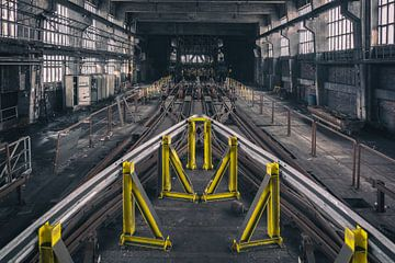 Verlassene Industrie Stadterkundung