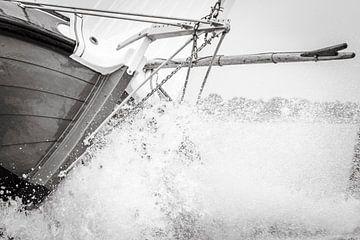 Skûtsje in de golven von ThomasVaer Tom Coehoorn