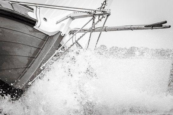 Skûtsje in de golven van ThomasVaer Tom Coehoorn