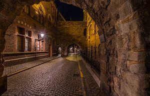 Blick durch die Maastrichter Sankt-Servatius-Basilika von Danny Bartels