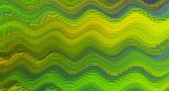 Blocks grün-gelb