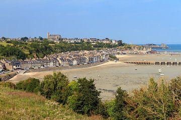 Uitzicht over Cancale in Bretagne von Dennis van de Water