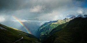 Regenboog in de Hohe Tauern