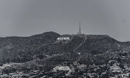 Hollywood Sign von Dave Verstappen