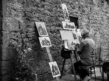Italienischer Maler von Colin Eusman