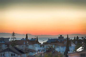 Sonnenuntergang in der Türkei von