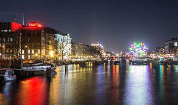 De Amstel tijdens de Illuminade 2014 van Annemieke Storm