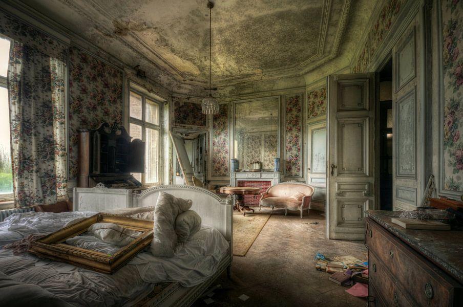 Urbex - Slaapkamer van Angelique Brunas