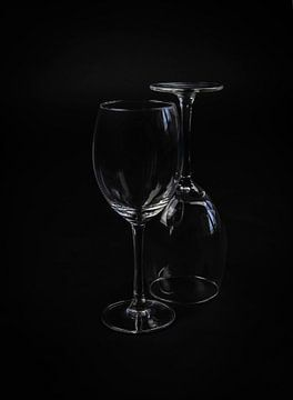 Verres à vin de nature morte sur Marjolein van Middelkoop