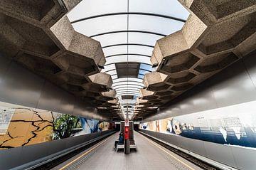 U-Bahn-Station Belgica von Werner Lerooy