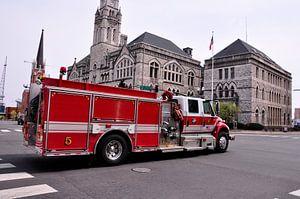 Amerikaanse brandweerauto in Nashville