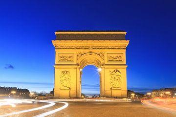 Paris Arc de Triomphe sur Dennis van de Water