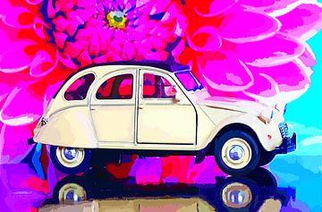 Ente alias Döschwo -  Citroën 2CV  van Jean-Louis Glineur alias DeVerviers