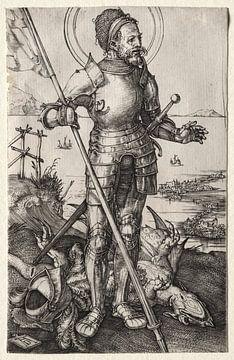 Der heilige Georg zu Fuß, Albrecht Dürer von De Canon