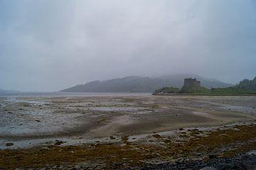 Castle Tioram bij laagwater van Andrea Ooms