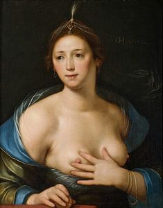 Cornelis Cornelisz. von Haarlem, Venus - 1617