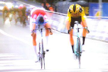 Mathieu van der Poel wint de Ronde van Vlaanderen van Studio Koers