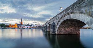 Maas Maastricht Alte Brücke von Danny Bartels