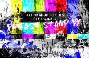 Test kaart – Please stand by! van