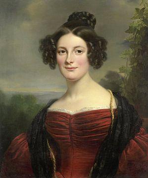 Catharina Annette Fraser (1815-1892), Jan Adam Kruseman sur