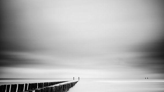Strand #2 (zwart wit)