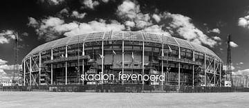 Stadion Feyenoord ofwel De Kuip, panorama van Pieter van Roijen