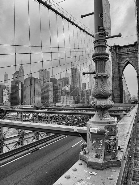 Brooklyn Bridge skyline New York van ÇaVa Fotografie