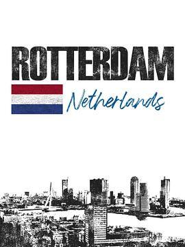 Rotterdam Niederlande von Printed Artings
