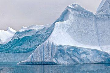 ijsberg Groenland 1 von Jan Molenveld