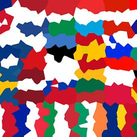 Drapeaux de l'Union 5: déformé sur Frans Blok