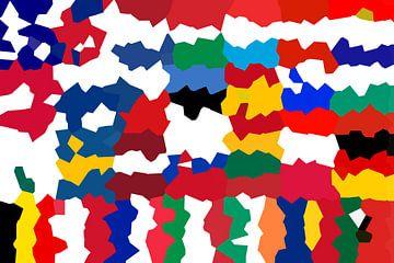 Vlaggen van de Unie 5: vervormd van