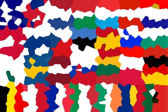 Vlaggen van de Unie 5: vervormd