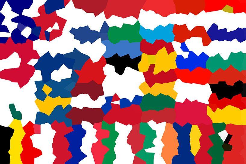 Vlaggen van de Unie 5: vervormd van Frans Blok