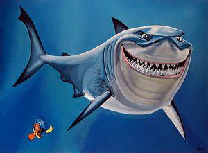 Finding Nemo schilderij van
