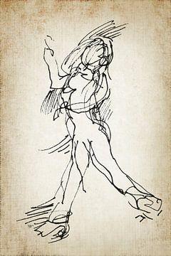 Tänzer dann und jetzt 3 von ART Eva Maria