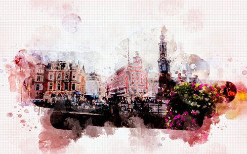 leven in Amsterdam  van