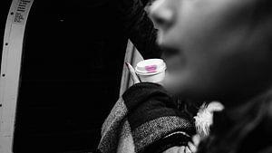 Subway lipstick van Tim Briers