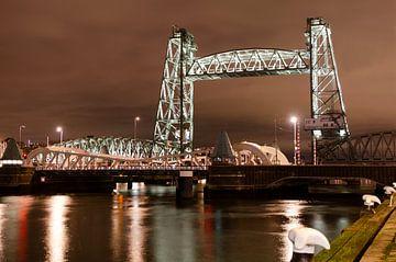 Rotterdam bij nacht von Annelies Cranendonk