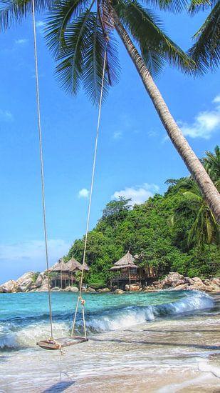 Tropisch Paradijs van Fotojeanique .