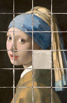 Meisje met de Parel - Meisje zonder Parel van Marja van den Hurk