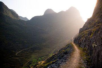 Path to heaven, Ha Giang, Vietnam sur Milou Oomens