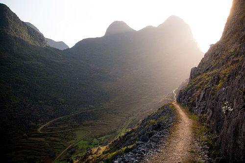 Path to heaven, Ha Giang, Vietnam von