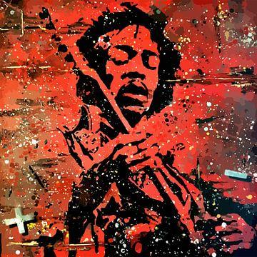 Jimi Hendrix von TRICHOPOULOS
