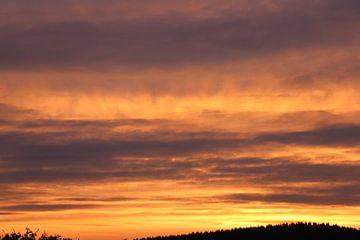 Wolkenfeuer van Ulrich Fuchs