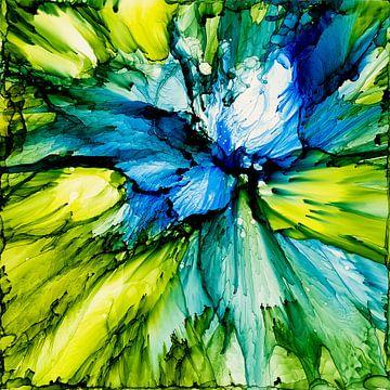 Leidenschaft in Blau von Agnieszka Zietek